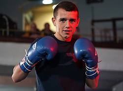 Peter McGrail during a public workout at the Grand Central Hall, Liverpool. Picture date: Wednesday October 6, 2021.
