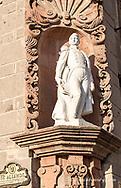 Statue of Ignacio Allende in the Jardin Plaza of San Miguel de Allende, Mexico