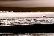 Image of Cannon Beach and Tillamook Rock Lighthouse, Oregon, Pacific Northwest by Andrea Wells