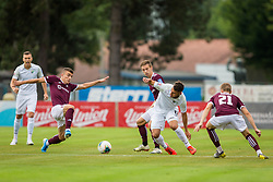 Egzon Kryeziu of NK Triglav Kranj during Football match between NK Triglav Kranj and NK Rudar Velenje in Round #3 of Prva liga Telekom Slovenije 2019/20, on July 27, 2019 in Sports park Kranj, Kranj, Slovenia. Photo by Ziga Zupan / Sportida