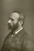 Michael Davitt (1846-1906 pictured c1890. Irish republican and labour leader and founder of the Irish Land League in 1879.