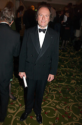 Writer WILLIAM BOYD at the Costa Book Awards 2006 held at The Grosvenor House Hotel, Park Lane, London W1 on 7th February 2007.<br /><br />NON EXCLUSIVE - WORLD RIGHTS