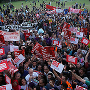 London,England,UK, 15th Aug 2016 : The Times: Crowds at the rally on Monday where Jeremy Corbyn appeared on the same stage as a Socialist Party member, prompting claims that he is galvanising the hard left at Highbury Fields, London,UK. Photo by See Li<br /> <br /> Socialists plot to drive Britain left | News | The Times & The Sunday Times http://www.thetimes.co.uk/edition/news/socialists-plot-to-drive-britain-left-ndf7t0mt9?CMP=Spklr-_-Editorial-_-TWITTER-_-thetimes-_-20160819-_-News-_-548754461&linkId=27824438