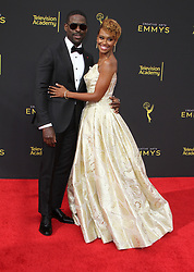 The 2019 Creative Arts Emmy Awards Day 2 at Microsoft Theater in Los Angeles, California on 9/15/19. 15 Sep 2019 Pictured: Sterlin K Brown, Ryan Michelle Bathe. Photo credit: River / MEGA TheMegaAgency.com +1 888 505 6342