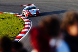 Dino Zamparelli | Bristol Sport Racing | #88 Porsche 911 GT3 Cup Car | Porsche Carrera Cup GB | Race 2 - Mandatory byline: Rogan Thomson/JMP - 07966 386802 - 11/10/2015 - MOTORSPORT - Brands Hatch GP Circuit - Fawkham, England - BTCC Meeting Day 2.