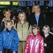 NLD/Utrecht/19971223 - Pittig Popconcert 1997 Utrecht, Maya Eksteen en oa kinderen Vigo, Nina en vriendin