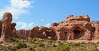 Double Arch, Arches National Park,Utah.