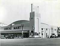 1933 Sunfax market at Sunset Blvd. & Fairfax Ave.