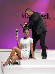Show da Schwarzopf Professional na Hair Brasil 2008, maior evento de beleza da América Latina, realizado no Expo Center Norte, na zona norte de São Paulo. FOTO: J. R. Comodo / Preview.com