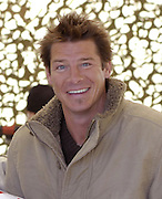 Clean cut Ty Pennington the star of Extreme MakeOver Home Edition on the set in Mississippi. Ty was recently arrested for DUI. Photo Feb 4,2007.(Photo/©Suzi Altman)