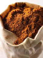 Ground Chilli Powder - stock photo