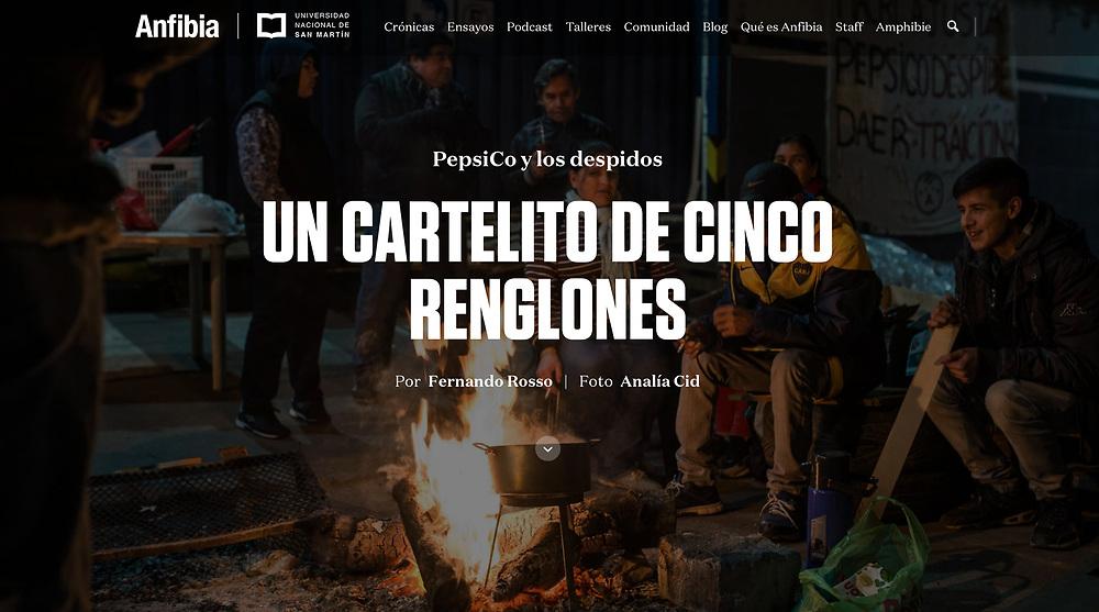 Trabajo publicado en la Revista Anfibia con texto de Fernando Rosso: http://www.revistaanfibia.com/cronica/cartelito-cinco-renglones/