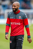 Charlton Athletic forward Josh Parker (10) before  the EFL Sky Bet League 1 match between Gillingham and Charlton Athletic at the MEMS Priestfield Stadium, Gillingham, England on 27 April 2019.