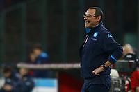 Maurizio Sarri Napoli,  <br /> Napoli 20-03-2016 Stadio San Paolo<br /> Football Calcio Serie A 2015/2016 Napoli - Genoa<br /> Foto Cesare Purini / Insidefoto
