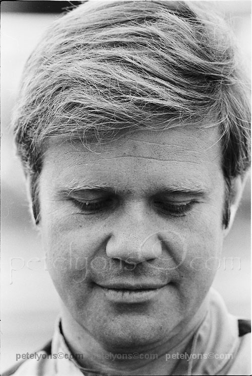 Mark Donohue; photo by the late Jim Chambers, included with his permission