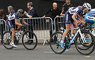 Women Road Race 129,4 km, Anabelle Dreville (French) and Charlotte Bavard (French) during the Road Cycling European Championships Glasgow 2018, in Glasgow City Centre and metropolitan areas Great Britain, Day 4, on August 5, 2018 - Photo Laurent lairys / ProSportsImages / DPPI