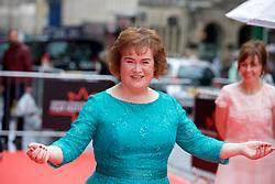 "Susan Boyle, on the red carpet at the Edinburgh International Film Festival world Premier of ""England is Mine"" at Edinburgh's Festival Theatre. Sunday, 2nd July, 2017(c) Brian Anderson | Edinburgh Elite media"