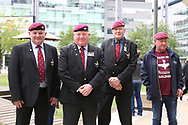 The Paras during the Soldier F Protest at Media City, Salford, United Kingdom on 18 May 2019.