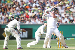© Licensed to London News Pictures. 26/12/2013. Ben Stokes batting during the Ashes Boxing Day Test Match between Australia Vs England at the MCG on 26 December, 2013 in Melbourne, Australia. Photo credit : Asanka Brendon Ratnayake/LNP