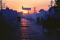 Katmandu Street Early Morning