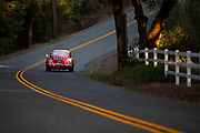 Image of a Ruby Red Porsche 356 B Coupe in California, America west coast, property released, by Randy Wells