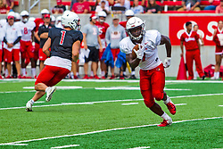 17 August 2019:   during the annual Red-White scrimmage of the Illinois State Redbirds at Hancock Stadium in Normal IL Peyton Jones