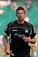 Football<br /> Coca Cola Football League One<br /> Brighton and Hove Albion vs Wycombe Wanderers at The Withdean Stadium, Brighton<br /> Wycombe's Matt Harrold<br /> 05/09/2009<br /> Credit Colorsport / Shaun Boggust