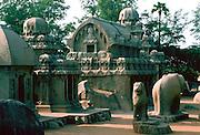 Mahabalipuram Temple Complex in India.
