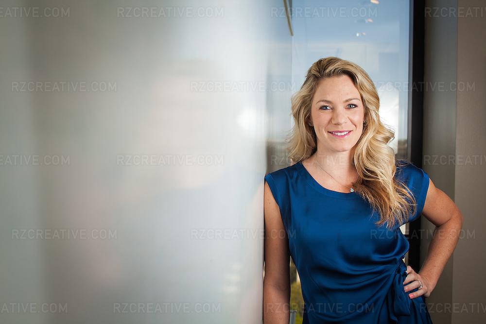 Portrait of Katie Steele. Executive Director of Opus Community Foundation.