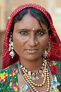 Woman in Jaisalmer, Rajasthan, India