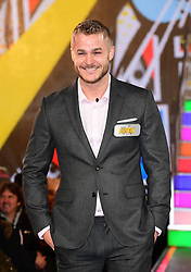 Austin Armacost enters the Celebrity Big Brother house at Elstree Studios in Borehamwood, Herfordshire, during the latest series of the Channel 5 reality TV programme.