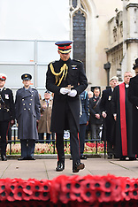 The Duke of Sussex visits the Field of Remembrance at Westminster Abbey - 08 Nov 2018