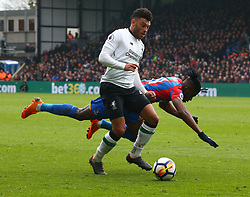 March 31, 2018 - London, Greater London, United Kingdom - Liverpool's Alex Oxlade-Chamberlain.during the Premiership League  match between Crystal Palace and Liverpool at Wembley, London, England on 31 March 2018. (Credit Image: © Kieran Galvin/NurPhoto via ZUMA Press)