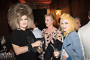 ARAKIS; PAM HOGG, Sarah Lucas- Scream Daddio party hosted by Sadie Coles HQ and Gladstone Gallery at Palazzo Zeno. Venice. 6 May 2015.