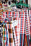 Traditional southern Thai men's sarongs, Phuket Old Town
