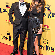 NLD/Scheveningen/20161030 - Premiere musical The Lion King, Maria Tailor en Wim Glas