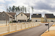 HOOVER, AL – MARCH 1, 2016: Houses and sidewalks are neatly kept in the Moss Rock Preserve neighborhood in Hoover. <br /> <br /> On Super Tuesday, voters in the economically vibrant city of Hoover turned out to voice their support for a presidential candidate. Located in the Appalachian foothills, Hoover is the largest suburb of Birmingham and is home to several planned communities with idyllic neighborhoods tailored for the upper middle class. CREDIT: Bob Miller for The Wall Street Journal<br /> OLDCITIES