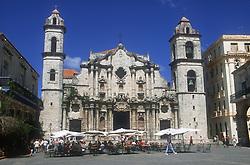 Cathedral in Havana; Cuba,