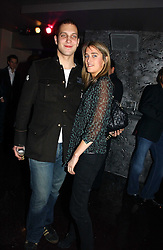 LORD FREDERICK WINDSOR and VIOLET VON WESTENHOLTZ  at a party to celebrate the opening of Kitts nightclub, 7-12 Sloane Square, London on 7th December 2006.<br />