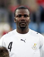 Fotball<br /> Foran VM 2006<br /> Tyrkia v Ghana<br /> Foto: imago/Digitalsport<br /> NORWAY ONLY<br /> <br /> 26.05.2006<br /> <br /> Samuel Osei Kuffour  (Ghana)