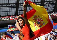 spain supporter<br /> Moscow 01-07-2018 Football FIFA World Cup Russia  2018 <br /> Spain - Russia / Spagna - Russia <br /> Foto Matteo Ciambelli/Insidefoto