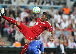 19.05.2012, Allianz Arena, Muenchen, GER, UEFA CL, Finale, FC Bayern Muenchen (GER) vs FC Chelsea (ENG), im Bild Jerome BOATENG (Bayern Muenchen) oben, unten Didier DROGBA (FC Chelsea) // during the Final Match of the UEFA Championsleague between FC Bayern Munich (GER) vs Chelsea FC (ENG) at the Allianz Arena, Munich, Germany on 2012/05/19. EXPA Pictures © 2012, PhotoCredit: EXPA/ Eibner/ Eckhard Eibner..***** ATTENTION - OUT OF GER *****