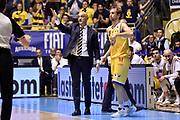 Francesco Frank Vitucci<br /> Fiat Auxilium Torino - Dolomiti Energia Aquila Basket Trento<br /> Lega Basket Serie A 2016/2017<br /> Torino, 13/03/2017<br /> Foto M.Ceretti / Ciamillo - Castoria