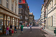 Ulica Głęboka w Cieszynie, Polska<br /> Głęboka Street in Cieszyn, Poland