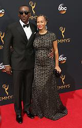 Mahershala Ali, Amatus Ali  bei der Verleihung der 68. Primetime Emmy Awards in Los Angeles / 180916<br /> <br /> *** 68th Primetime Emmy Awards in Los Angeles, California on September 18th, 2016***