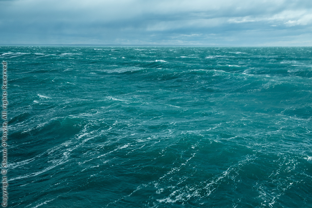Getting rough as we cruise down the coast of Argentina