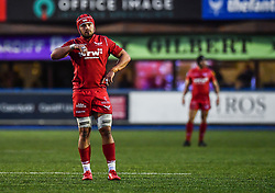 Scarlets' Will Boyde - Mandatory by-line: Craig Thomas/Replay images - 31/12/2017 - RUGBY - Cardiff Arms Park - Cardiff , Wales - Blues v Scarlets - Guinness Pro 14