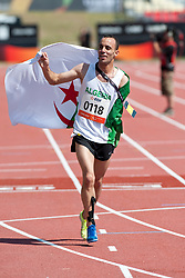 NOUIOUA Samir, ALG, 5000m, T46, 2013 IPC Athletics World Championships, Lyon, France