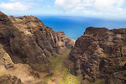 Nuulolo Kai Canyon, Kauai, Hawaii