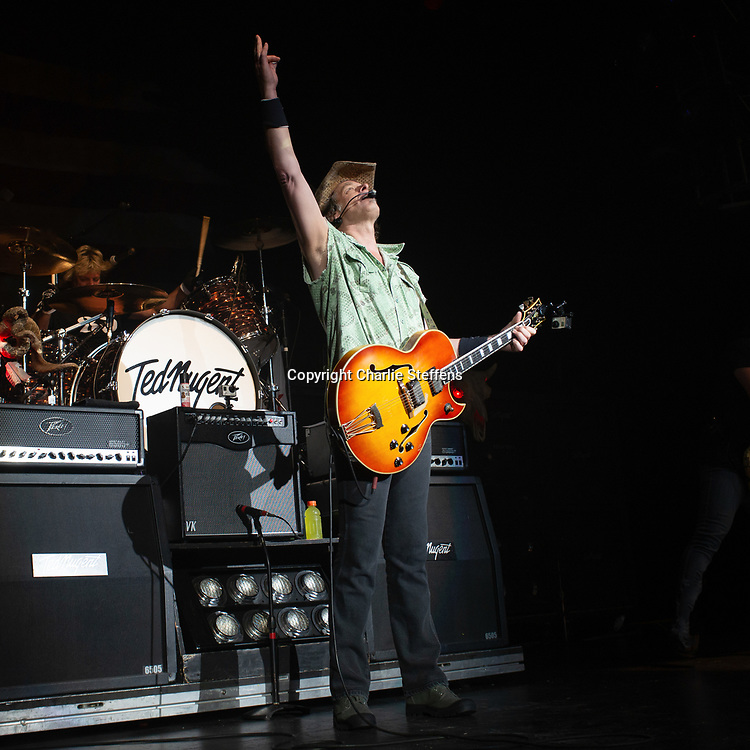 TED NUGENT at City National Grove of Anaheim in Anaheim, California